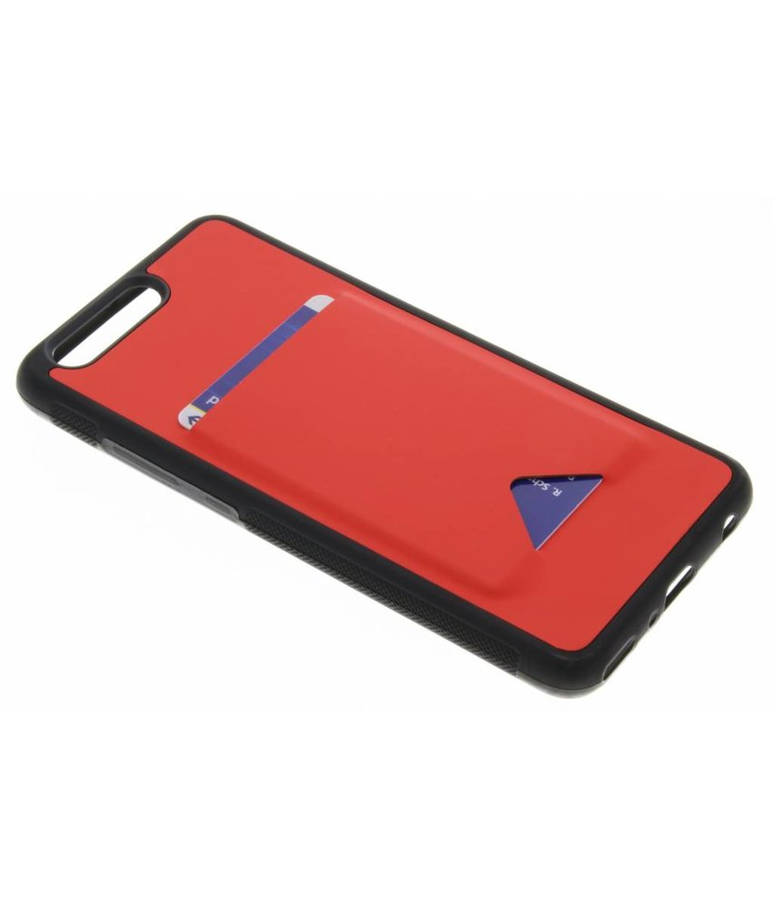 Dux Ducis Rood Cardslot Hardcase Huawei P10 Plus