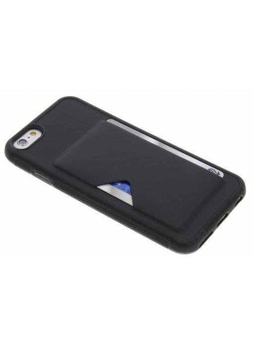 Dux Ducis Zwart Cardslot Hardcase iPhone 6 / 6s