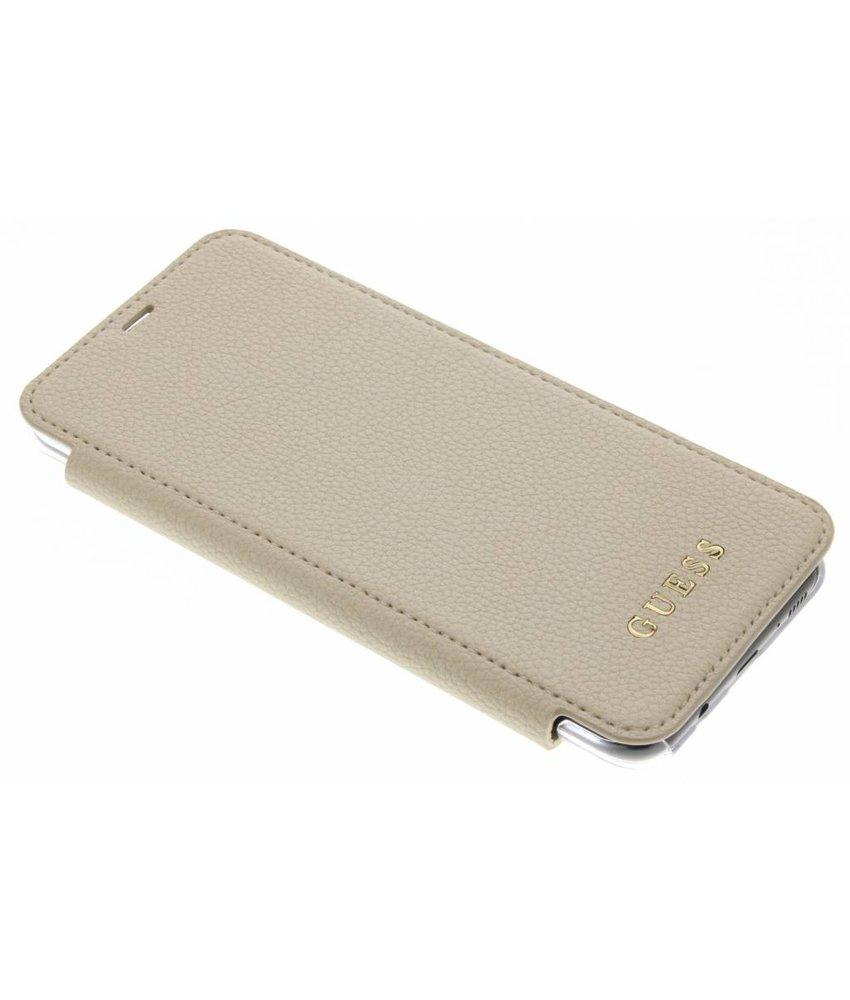 Guess Goud Transparent Back Foliocase Samsung Galaxy S8 Plus