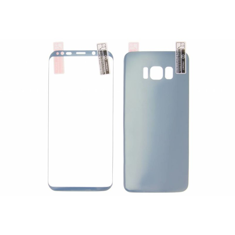 Blauw Screenprotector Front + Back Samsung Galaxy S8