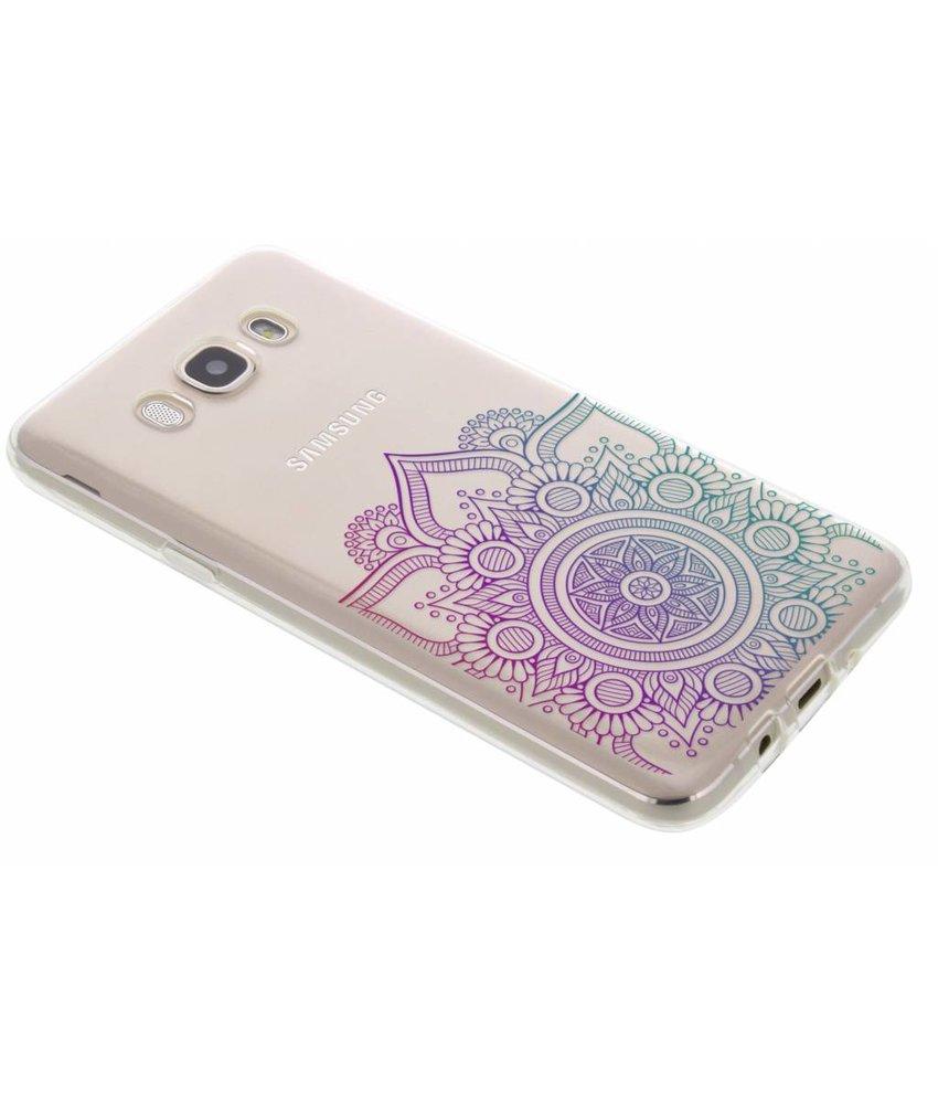 Mandala design TPU hoesje Samsung Galaxy J7 (2016)