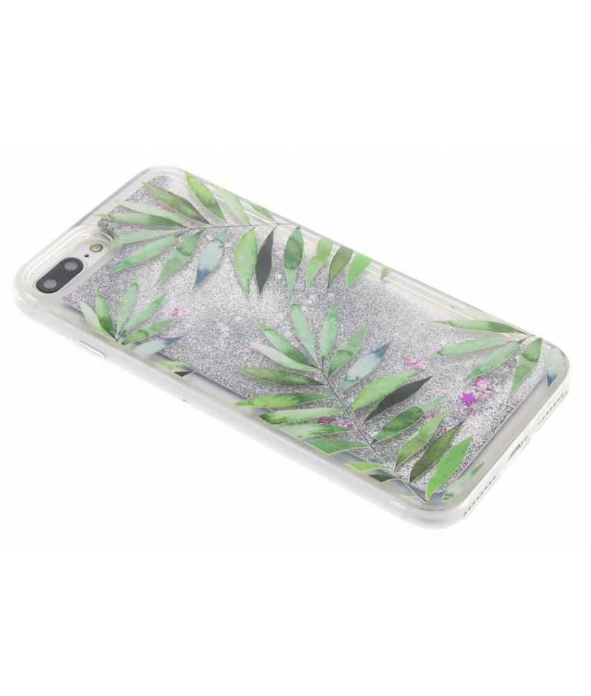 Palm Glittercase iPhone 8 Plus / 7 Plus