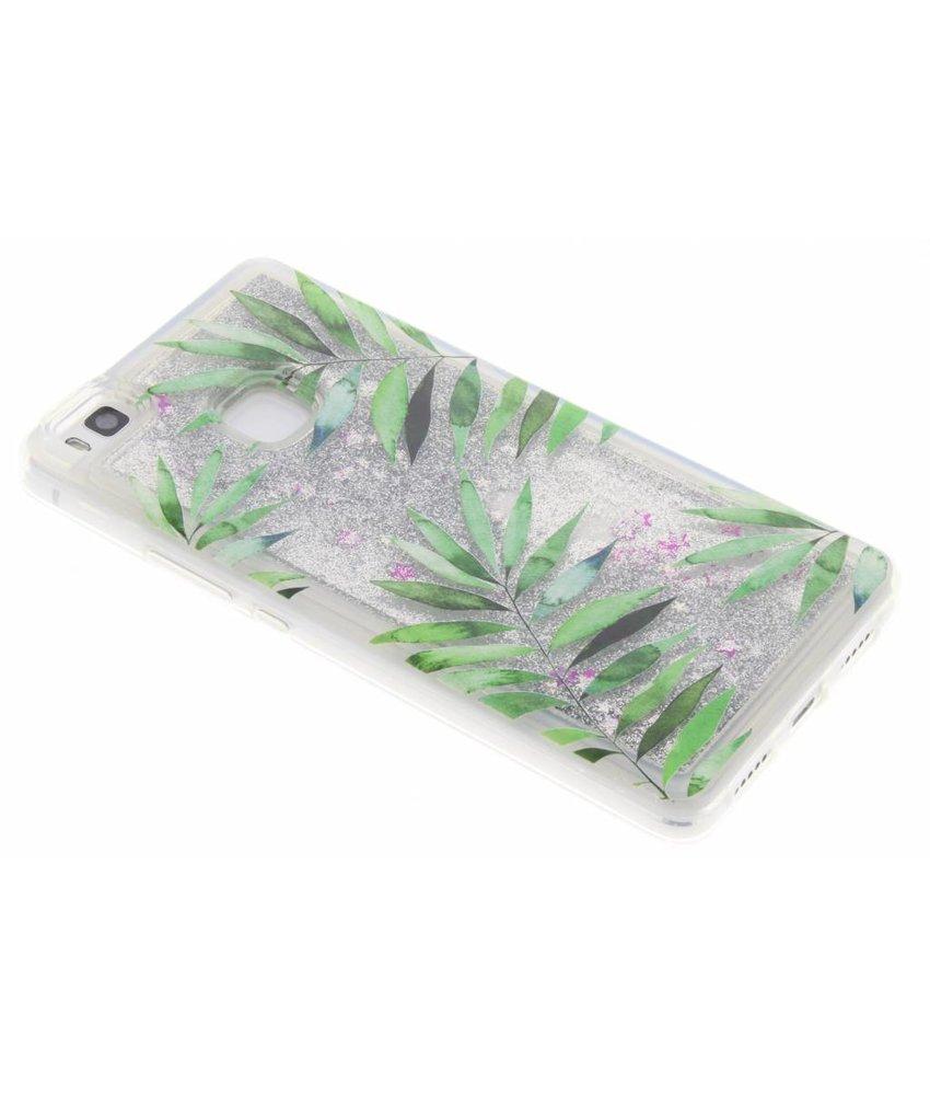 Palm Glittercase Huawei P9 Lite