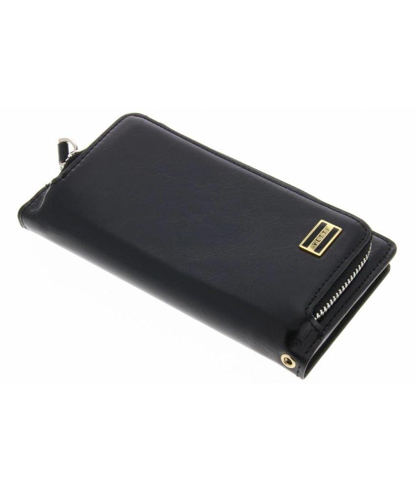 Vetti Craft Zwart Coin Wallet Case Huawei P8