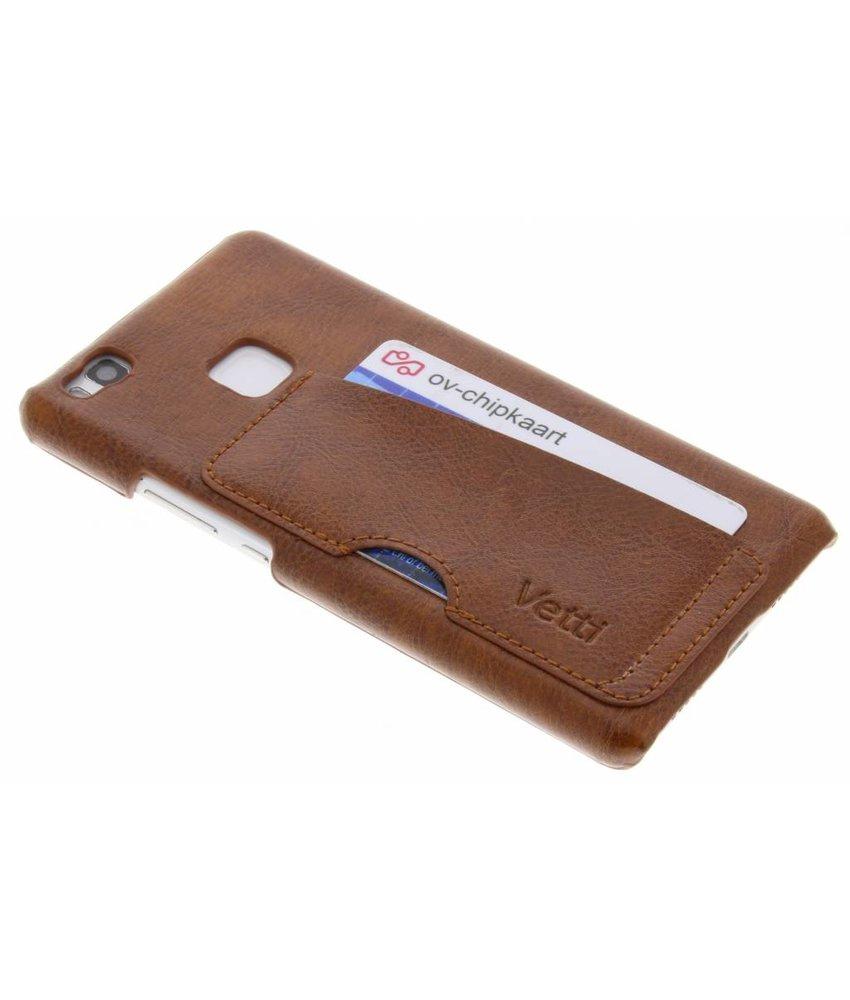 Vetti Craft Bruin Card Slot Snap Cover Huawei P9 Lite