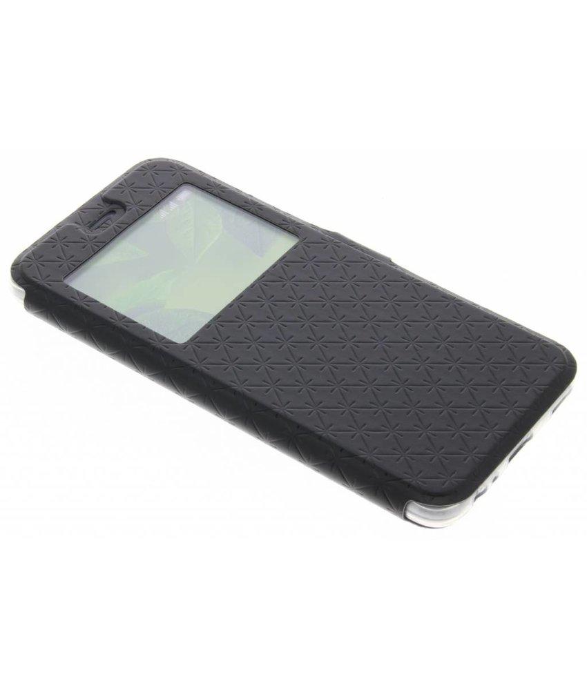 Zwart Rhombus hoesje Huawei P10