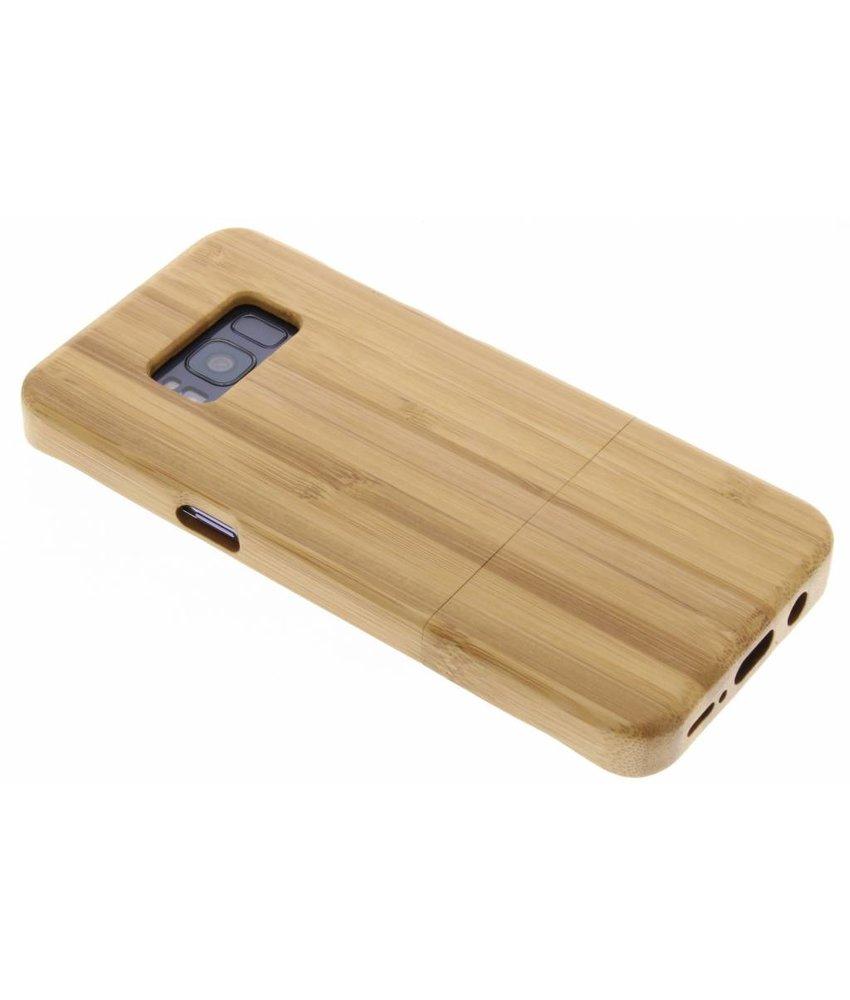 Echt houten hardcase hoesje Samsung Galaxy S8