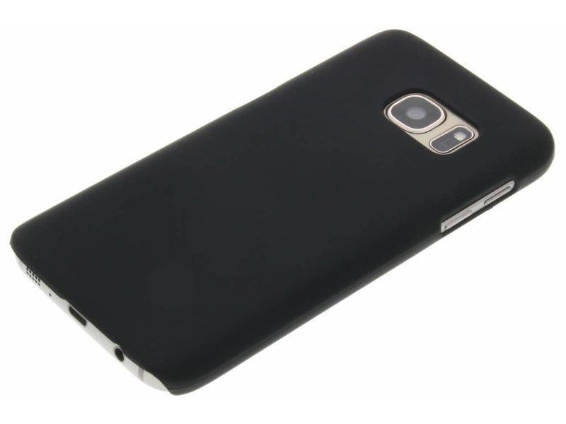 Samsung Galaxy S7 hoesje - Zwart effen hardcase hoesje