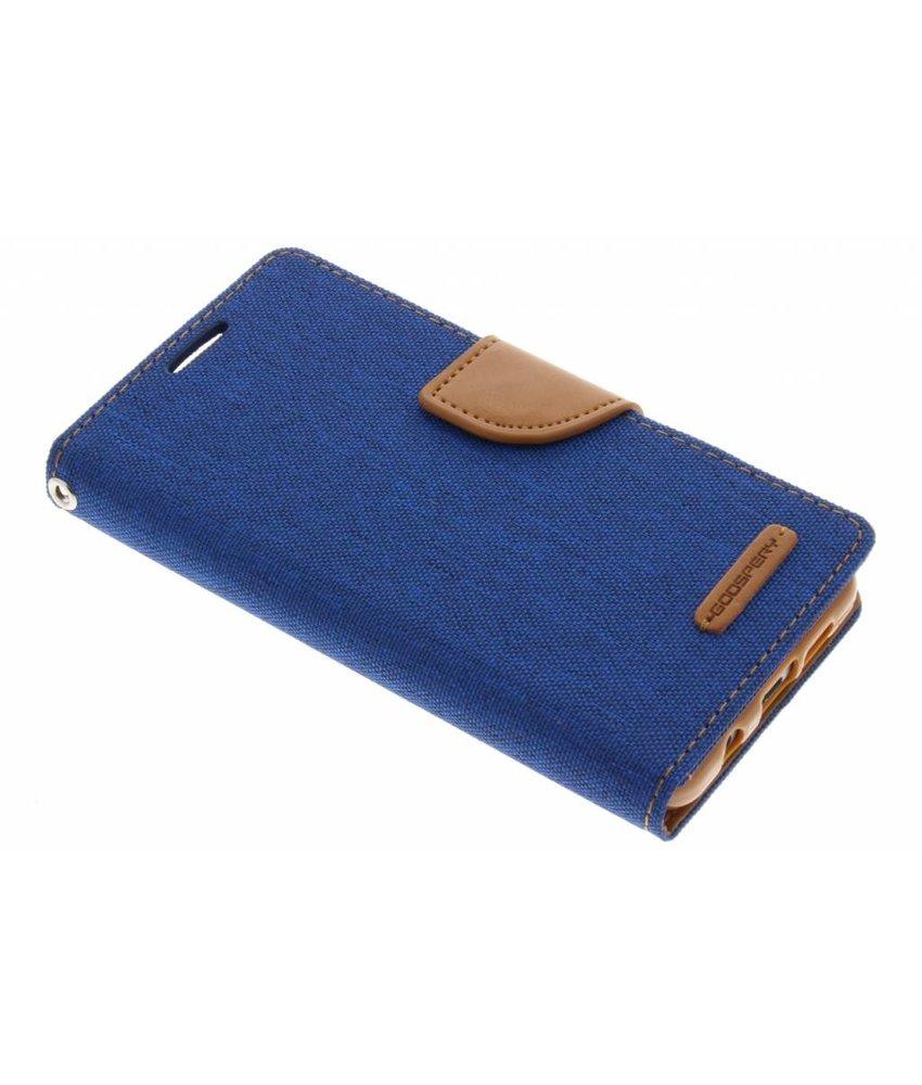 Mercury Goospery Blauw Canvas Diary Case Samsung Galaxy A3 (2016)