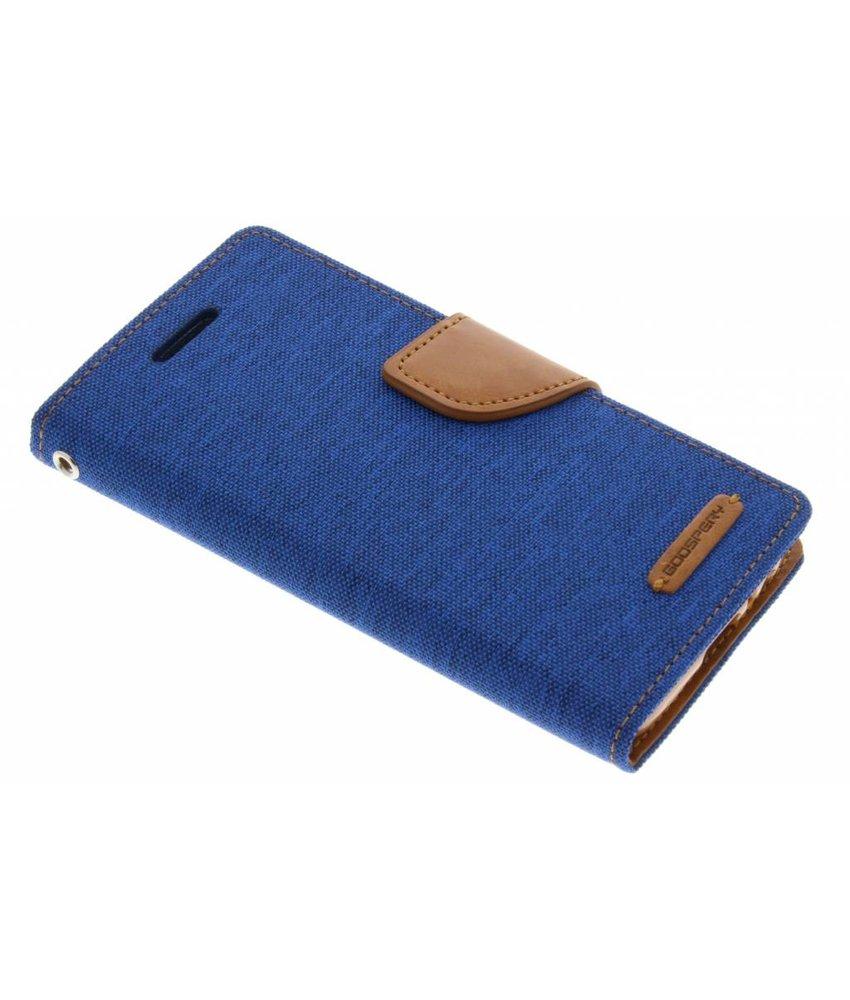 Mercury Goospery Blauw Canvas Diary Case Samsung Galaxy A3 (2017)