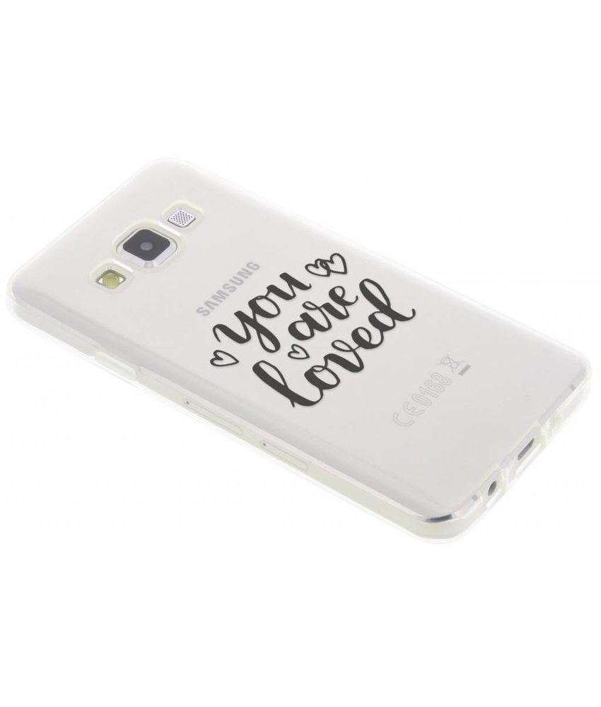 You Are Loved TPU hoesje Samsung Galaxy A3