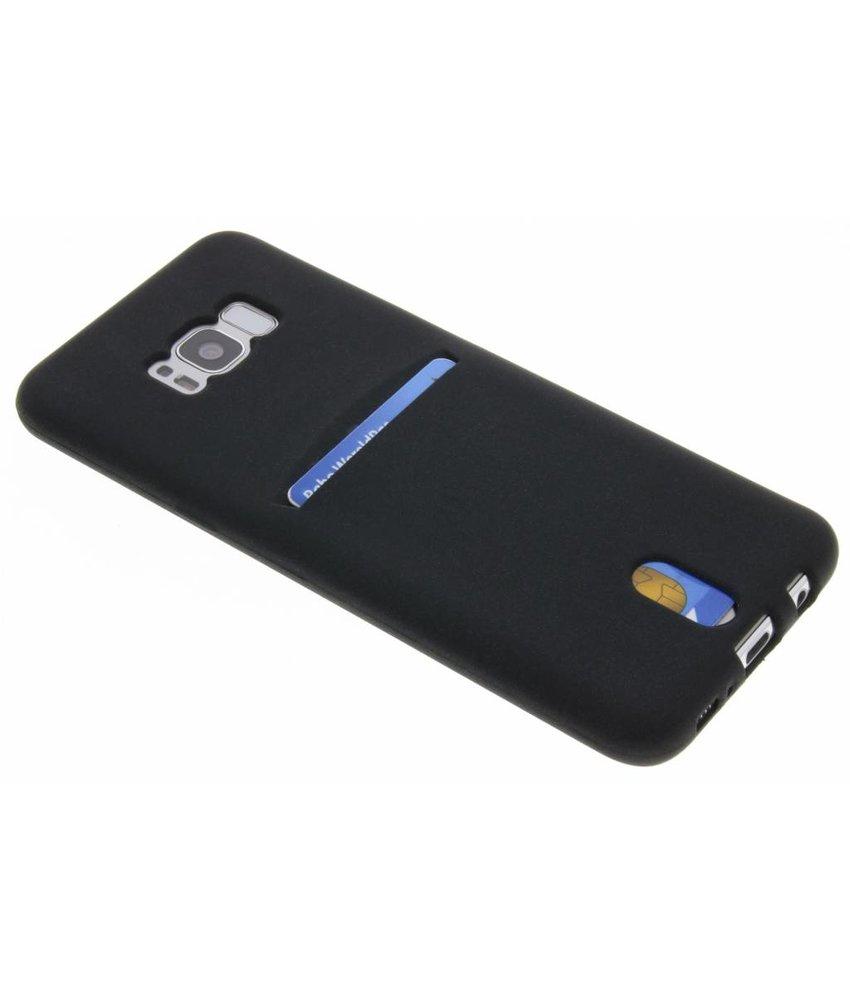 TPU Siliconen card case Samsung Galaxy S8 Plus