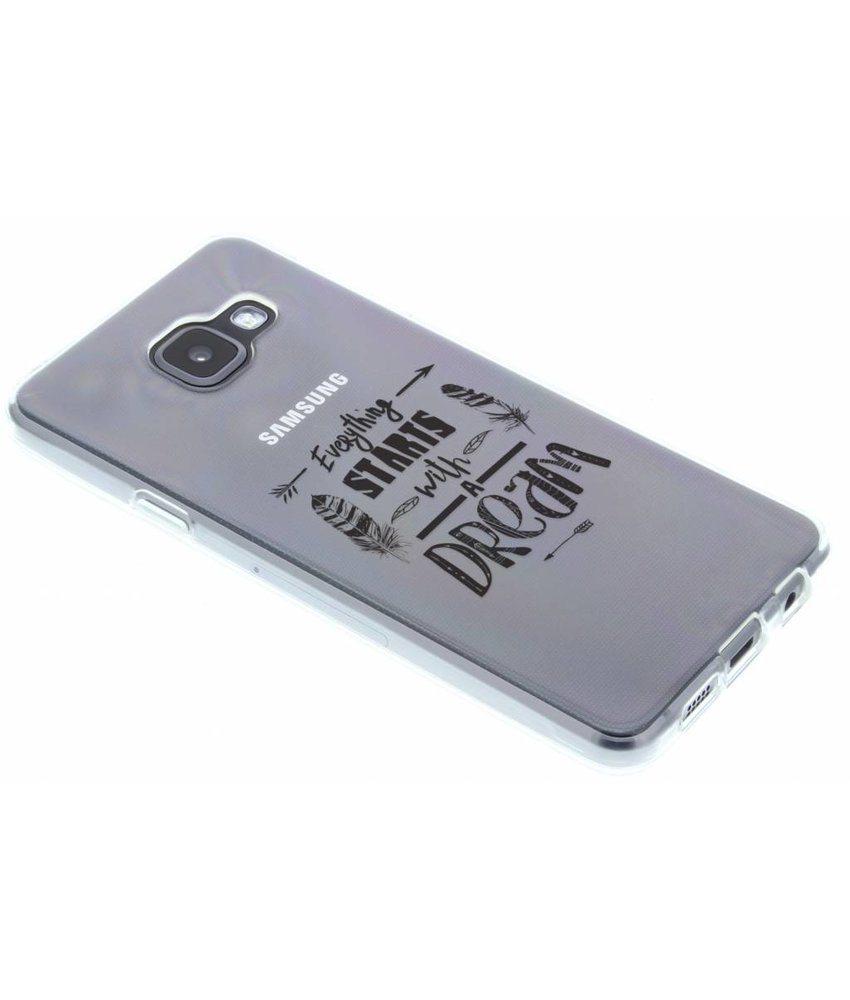 Dreams Quote TPU hoesje Samsung Galaxy A3 (2016)