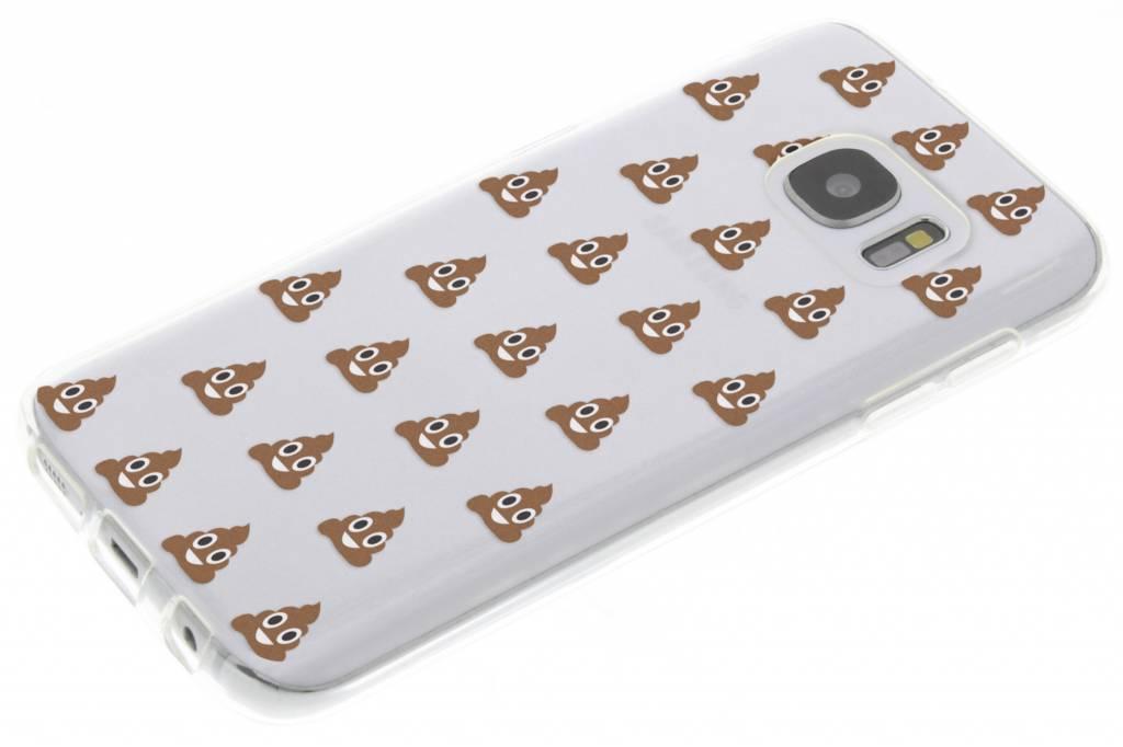 Cas Tpu Design Smiley Pour Samsung Galaxy S7 bgEAR2