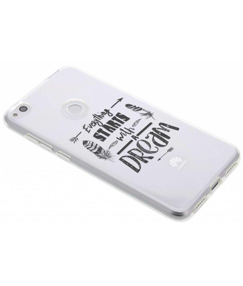Dreams Quote TPU hoesje Huawei P8 Lite (2017)