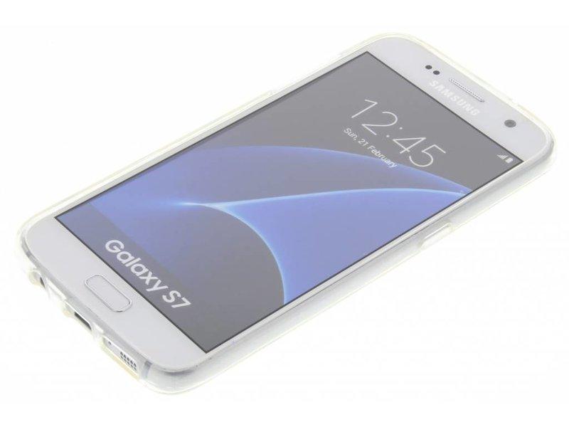 Samsung Galaxy S7 hoesje - Eiffeltoren design TPU hoesje