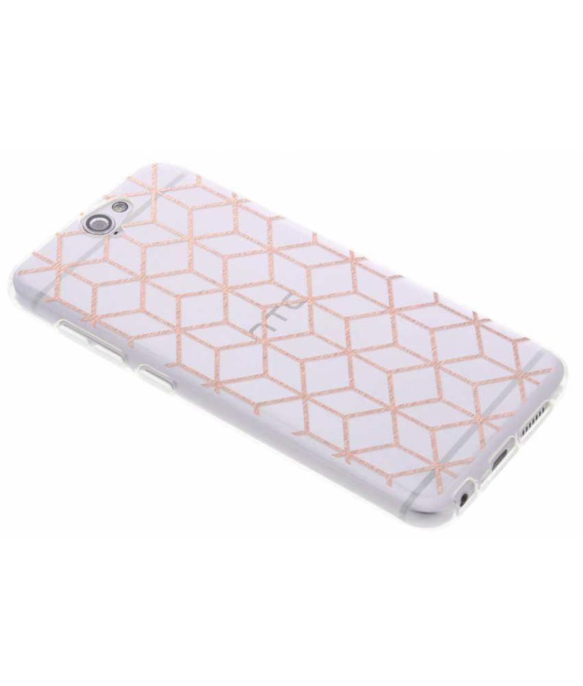 Cubes design TPU hoesje HTC One A9
