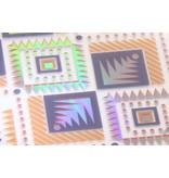 Holographic aztec case voor de Samsung Galaxy S8 Plus