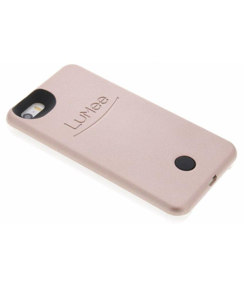 LuMee Rosé Goud Lighted Hard Case iPhone 5 / 5s / SE