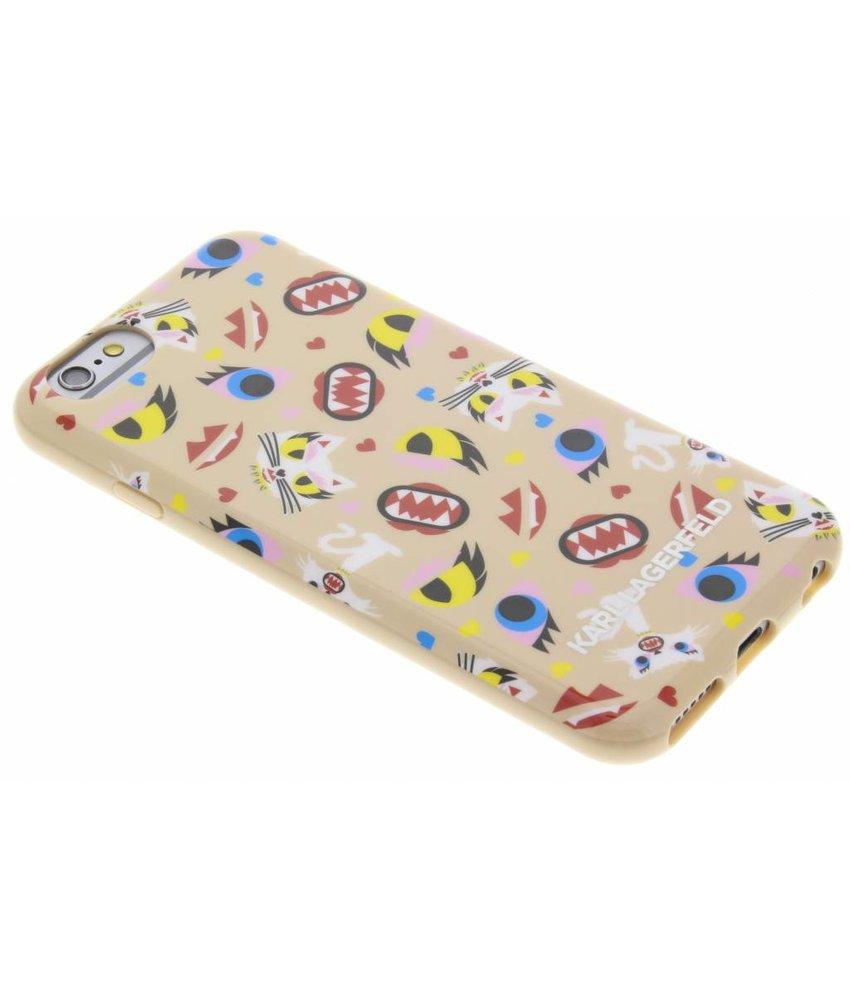 Karl Lagerfeld Design TPU Case iPhone 6 / 6s - Beige