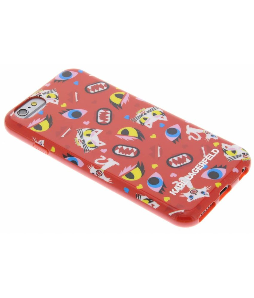 Karl Lagerfeld Design TPU Case iPhone 6 / 6s - Red