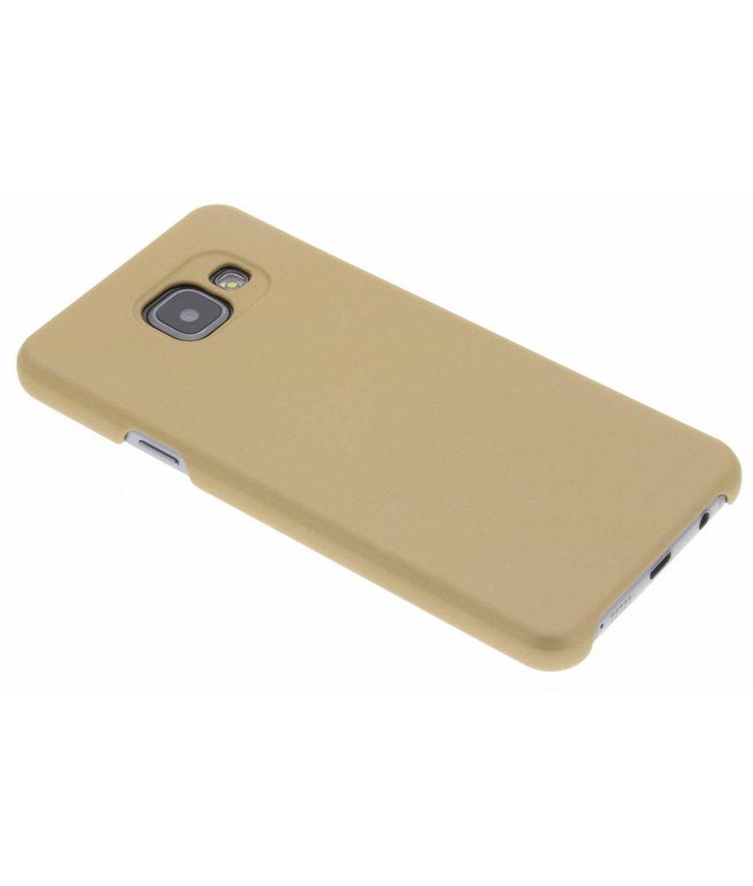 Goud luxe hardcase hoesje Samsung Galaxy A3 (2016)