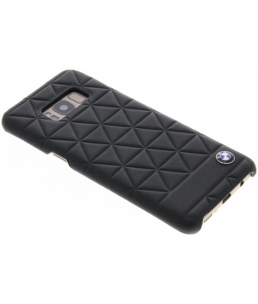 BMW Zwart Hexagon Hard Case Samsung Galaxy S8