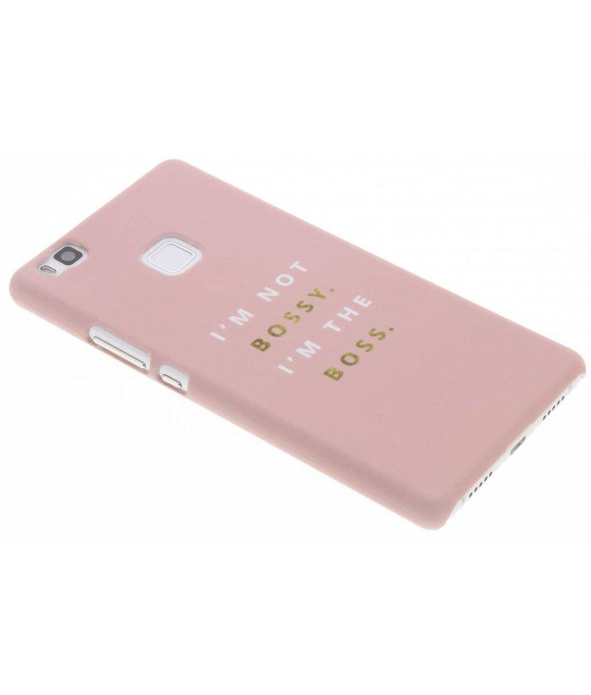 Quote design hardcase hoesje Huawei P9 Lite