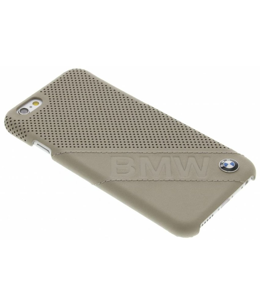 BMW Hard Case Slanted Logo iPhone 6 / 6s - Taupe