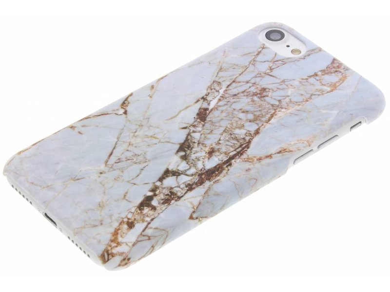 Wit marmer design hardcase hoesje voor de iPhone 8 / 7