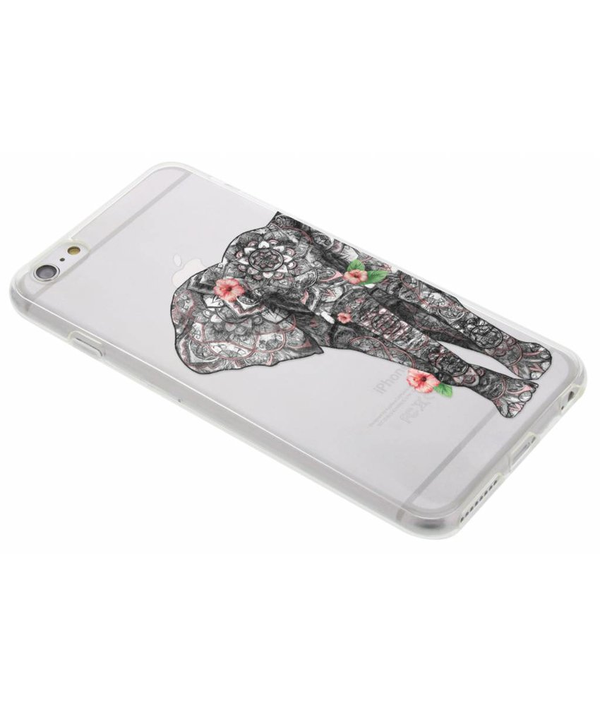 Dieren design TPU hoesje iPhone 6(s) Plus