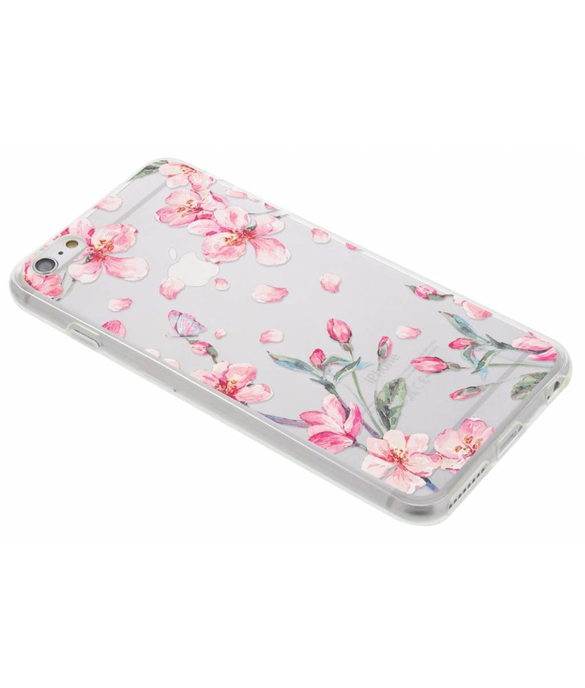 Bloesem TPU hoesje iPhone 6(s) Plus