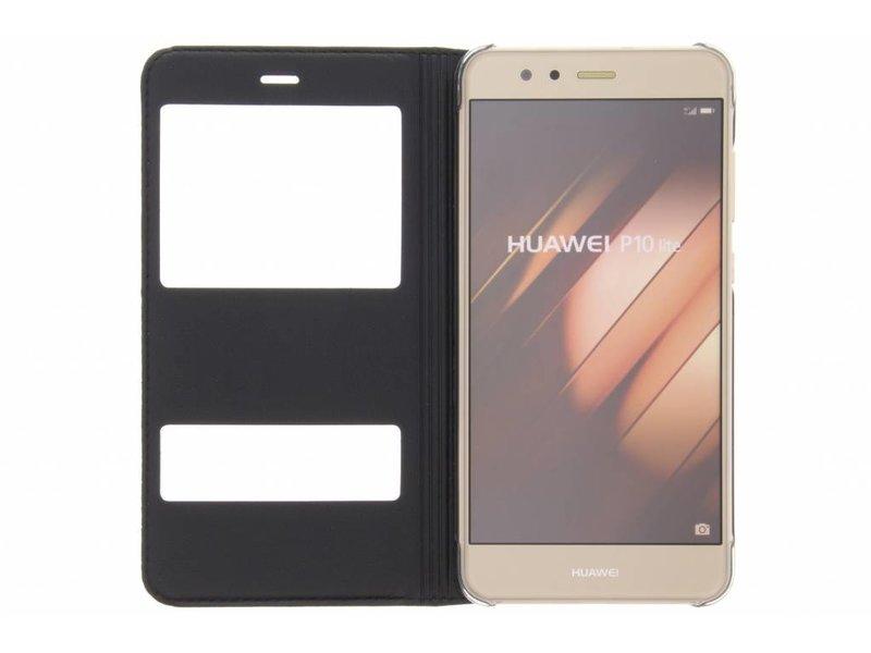 Huawei P10 Lite hoesje - Zwarte slim booktype hoes
