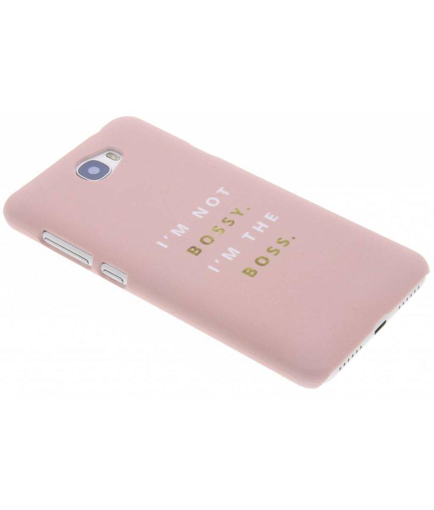 Quote design hardcase hoesje Huawei Y5 2 / Y6 2 Compact