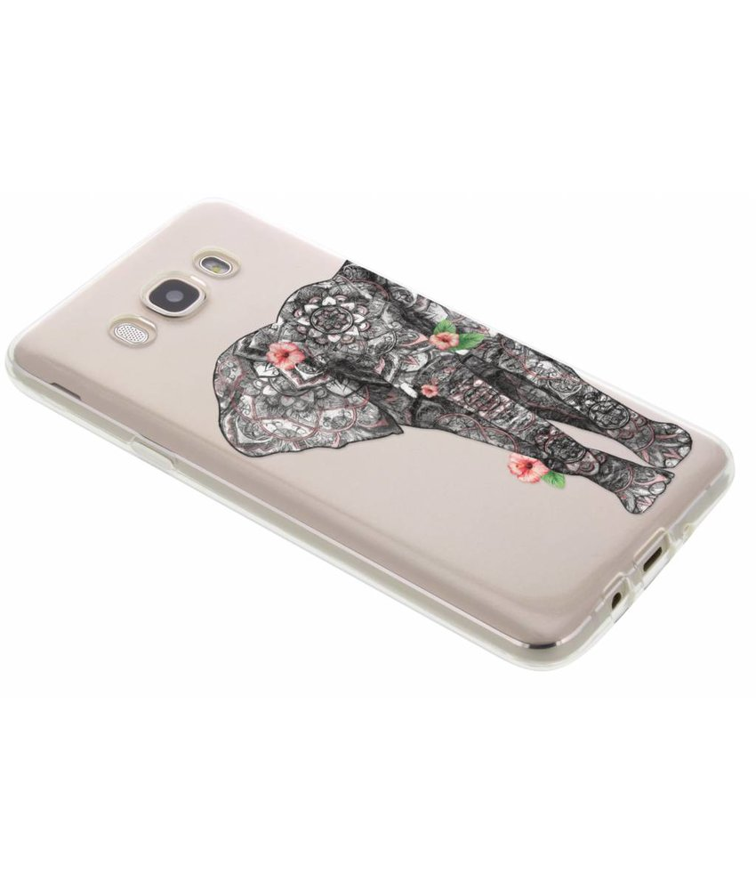 Dieren design TPU hoesje Samsung Galaxy J7 (2016)
