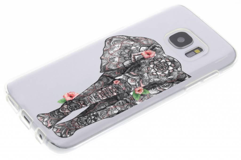 Cas Elephant Tpu Pour Samsung Galaxy S7 vKZha