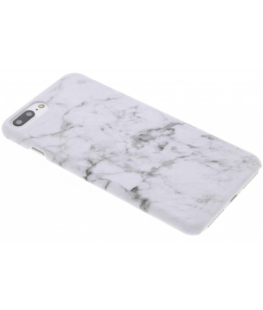Marmer look hardcase hoesje iPhone 7 Plus