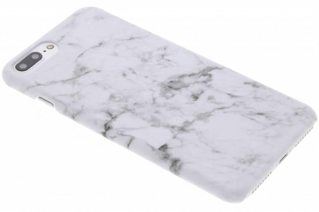Conception De Marbre Blanc, Étui Rigide Pour Nokia 3