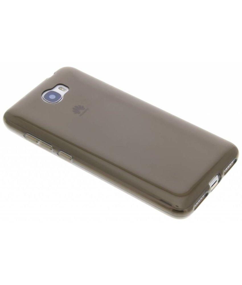 Grijs transparant gel case Huawei Y5 2 / Y6 2 Compact