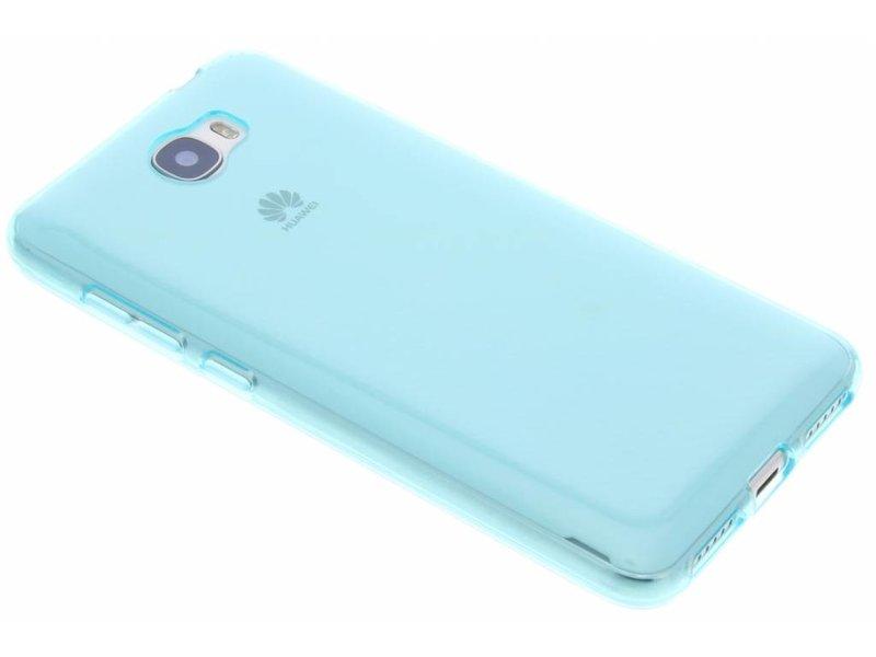 Cas De Gel Turquoise Transparent Pour Huawei Y5 ICtFZsJ7