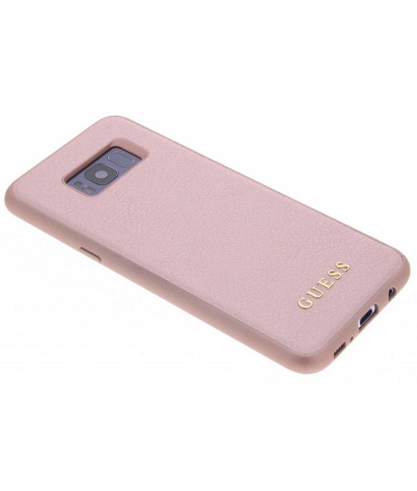 Guess Roze iriDescent Hardcase Samsung Galaxy S8 Plus