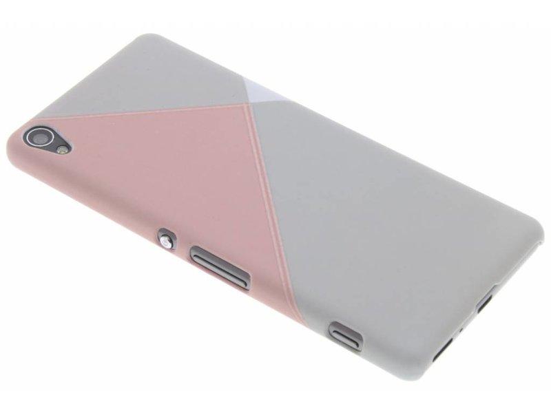 Les Surfaces De Couleur Pastel Conception, Étui Rigide Pour Sony Xperia Xa