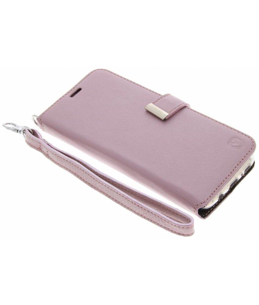 Valenta Roze Booklet Premium Handstrap Samsung Galaxy S8