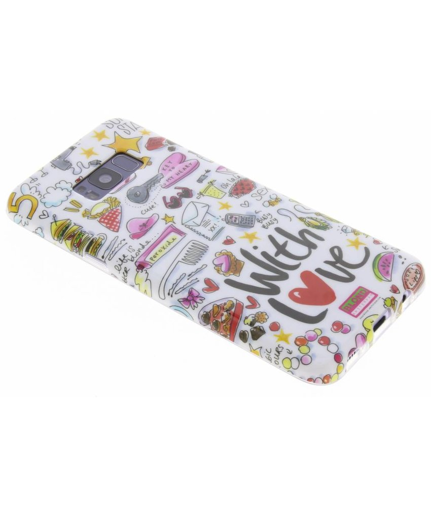 Blond Amsterdam With love softcase Samsung Galaxy S8 Plus