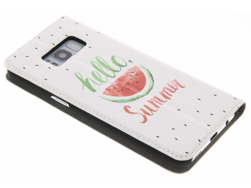 Samsung Galaxy S8 hoesje - Watermeloen Design Booklet voor