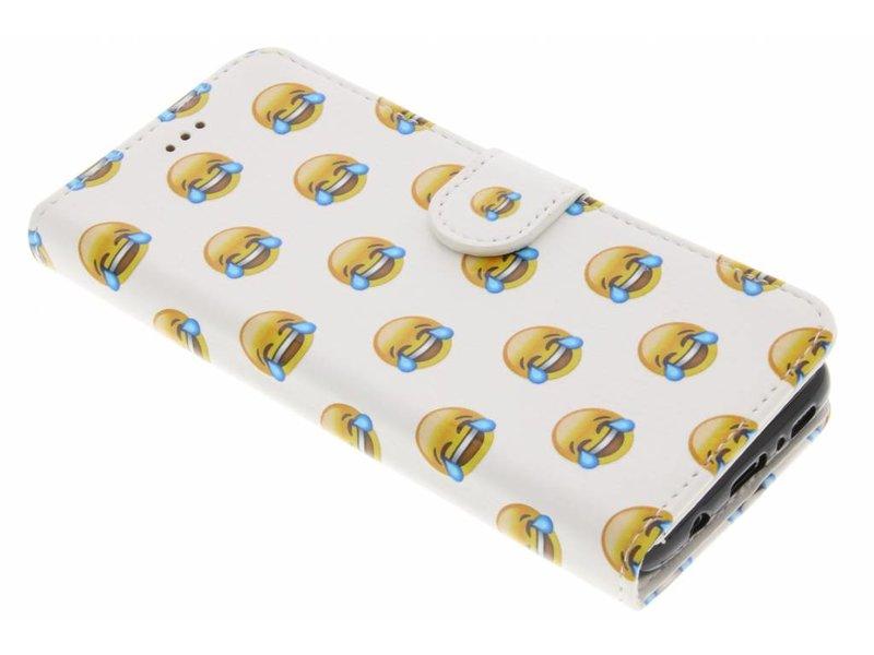 Emoji Rire Conception Booktype Case Tpu Pour Samsung Galaxy S7 Hoo2u8zDsA