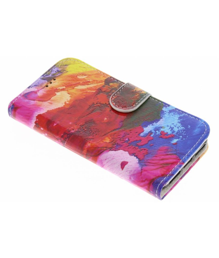 Design TPU booktype hoes iPhone 8 / 7