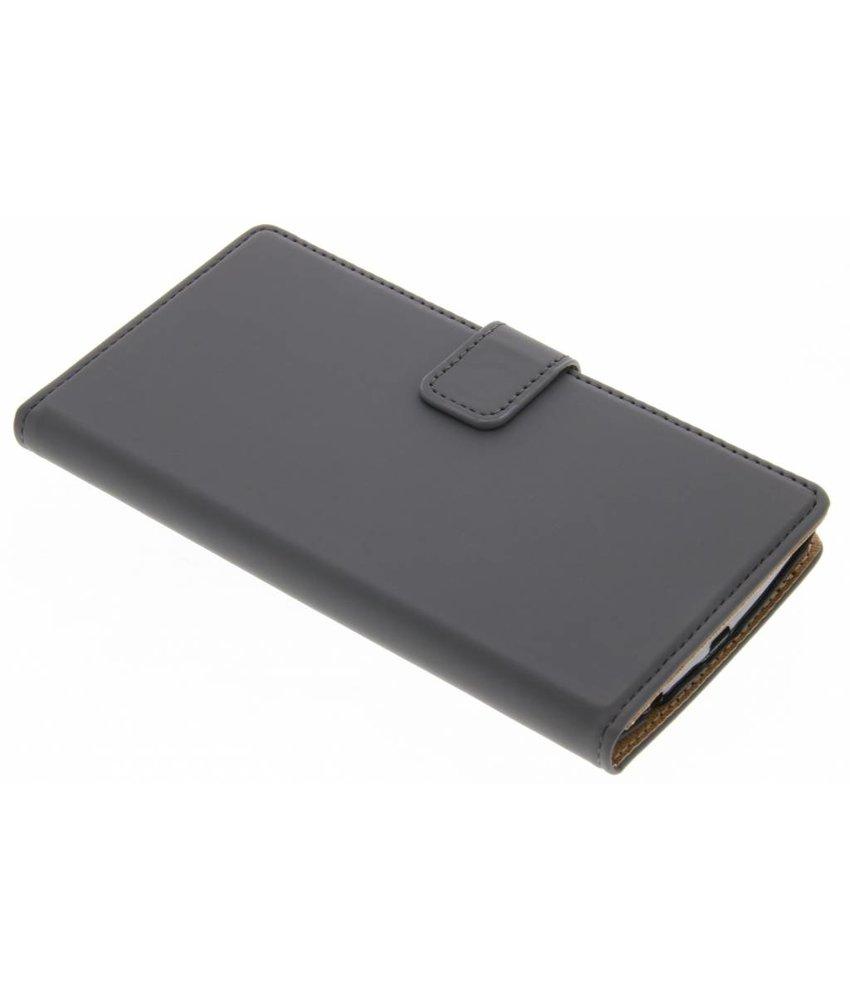 Selencia Grijs Luxe Book Case LG G4