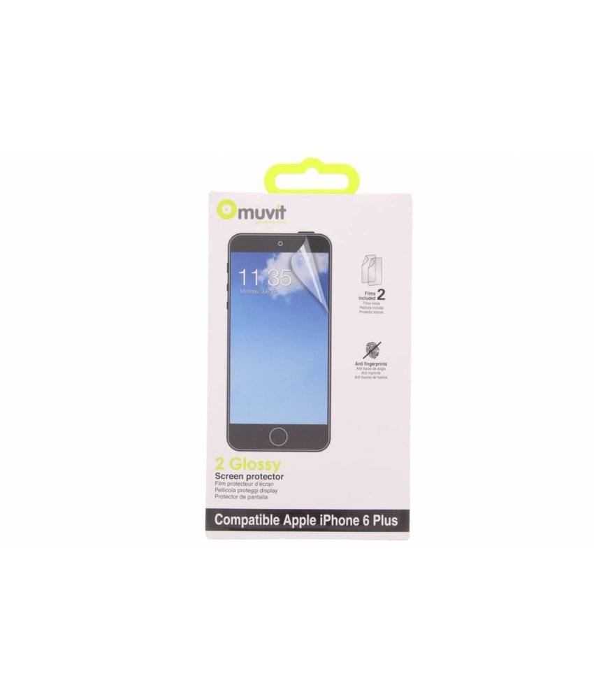 Muvit Glossy Screenprotector iPhone 6(s) Plus