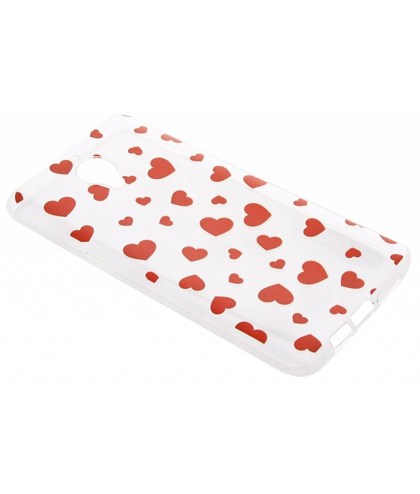 Red Hearts TPU hoesje OnePlus 3 / 3T